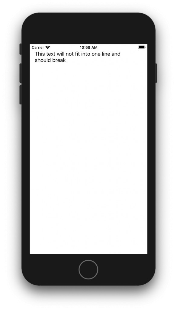 UILabel with multiple lines on iPhone