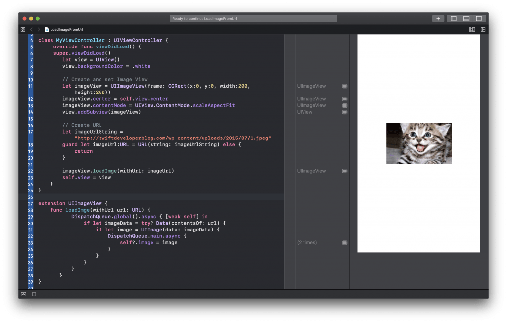 Load Image from Remote URL in Swift