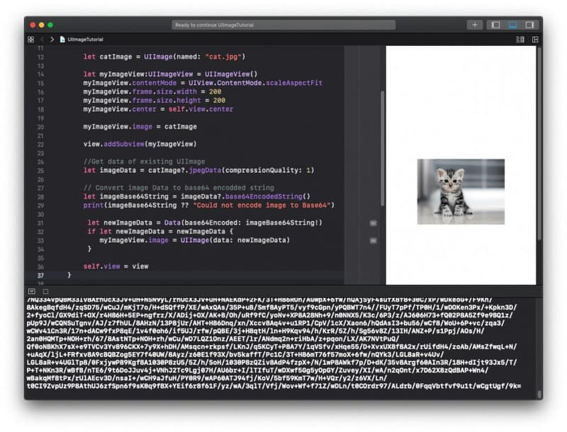 UIImage Encoding and Decoding in Swift